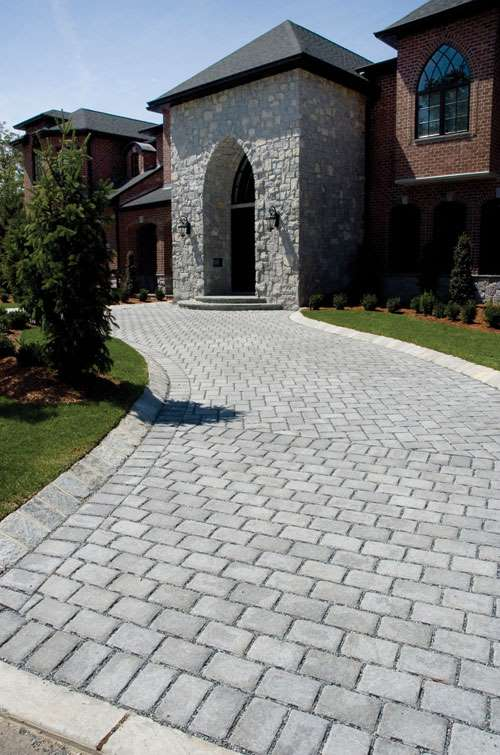 Roman Cobble Green Pavers Hilltopblock Com