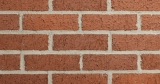 Cherry Red Velour Thin Brick 1/2""