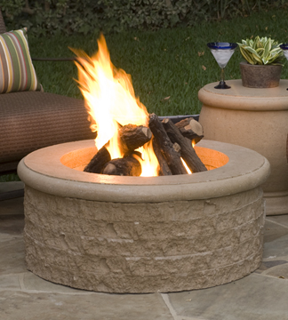 Chiseled Fire Pits