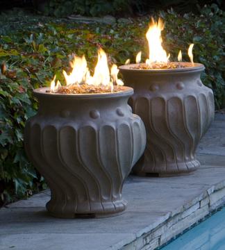 Etruscan Fire Urns